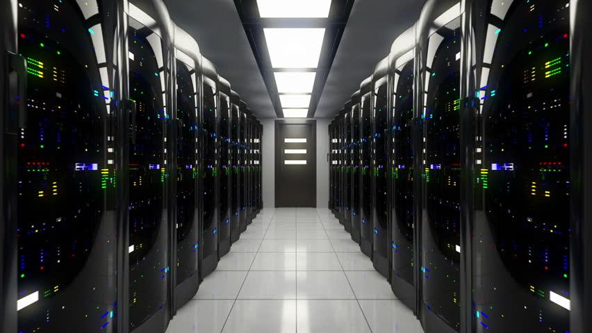 Blackout in server room  | Shutterstock HD Video #5368298