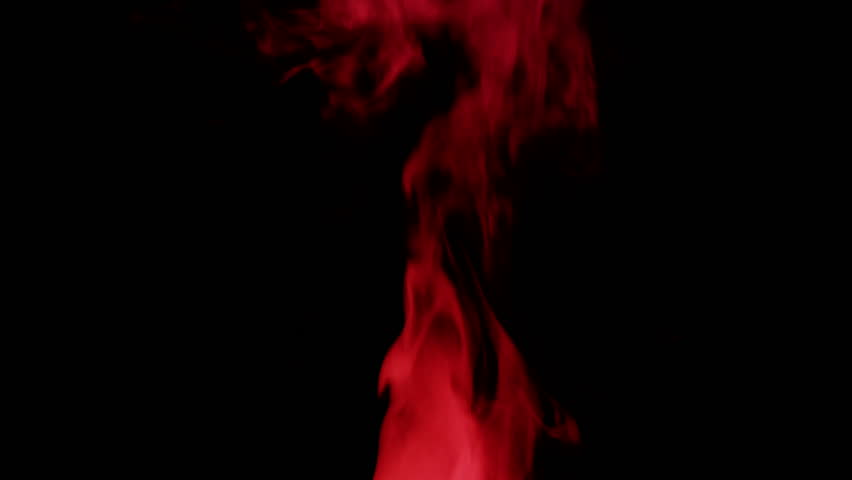 Red smoke against black background | Shutterstock HD Video #5368940