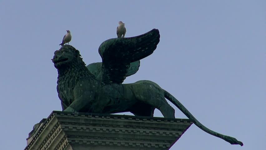 The Lion Of Saint Mark Representing The Evangelist St Mark