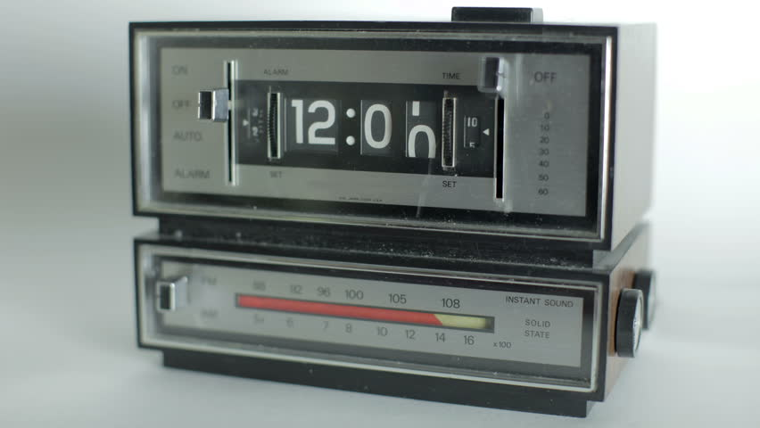 4k stop motion of a flip clock. this is a super high 4k resolution version, 4096x2304 | Shutterstock HD Video #5401190