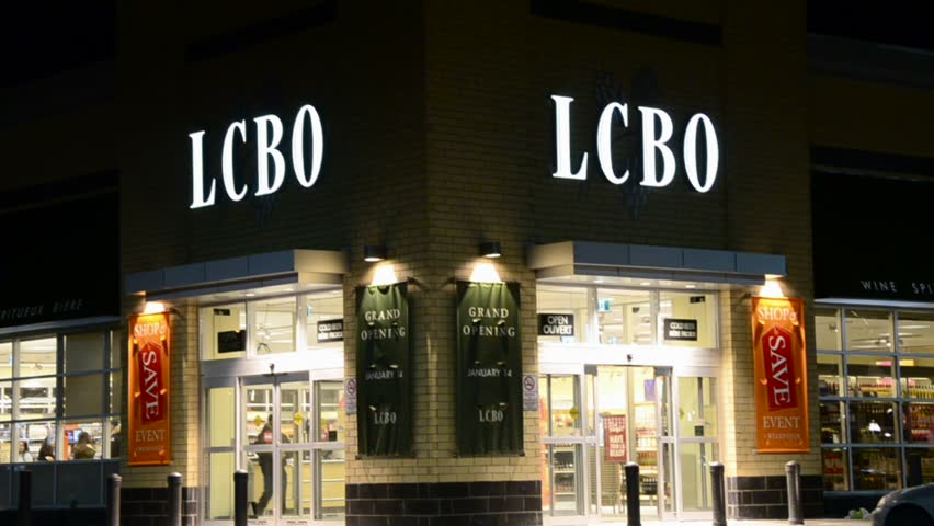 TORONTO-JANUARY 25 The Liquor Control Board of Ontario (LCBO) is a & NEW YORK - FEB 24 2017: Zooming Out From Sardis Red Canopy Famous ...