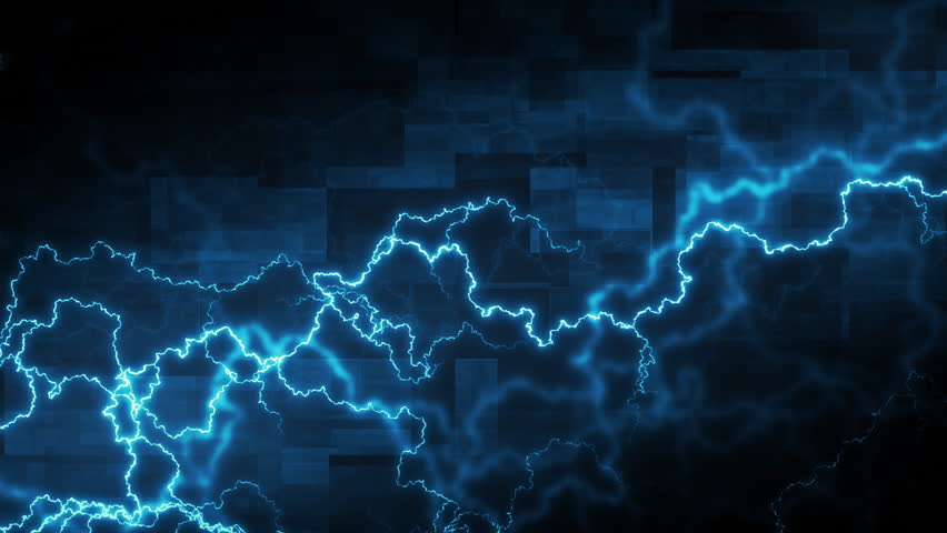 Abstract background with electric arcs