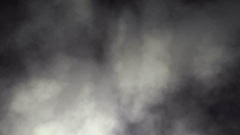 Rolling Dark Smoky Clouds Seamless Background Loop 4K