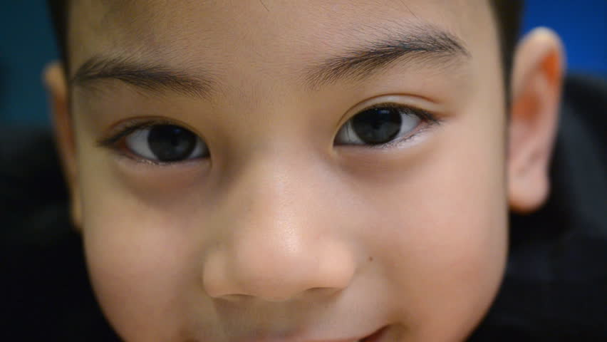 Asian child facial expressions | Shutterstock HD Video #5557280