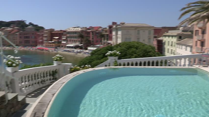 Clean Swimming Pool in Fancy Stock Footage Video (100% Royalty-free)  5633990   Shutterstock