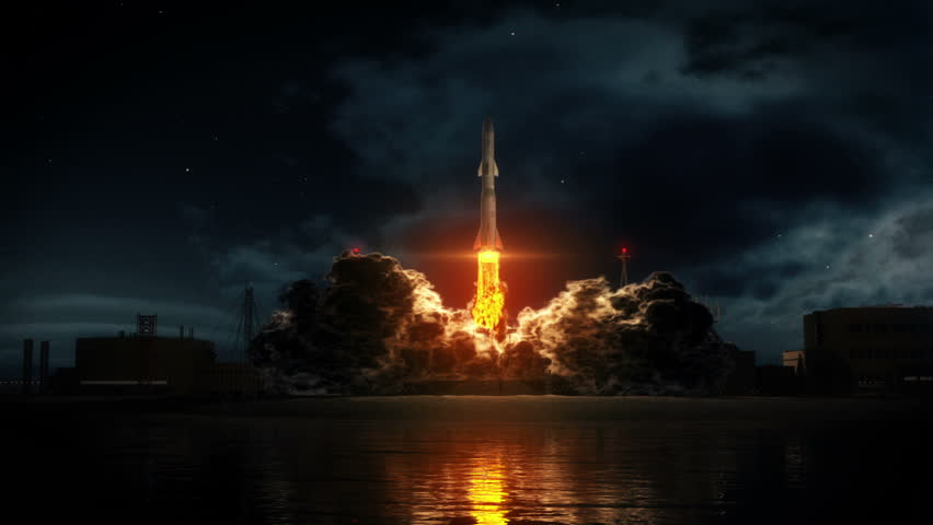 Rocket Takeoff | Shutterstock HD Video #5761580