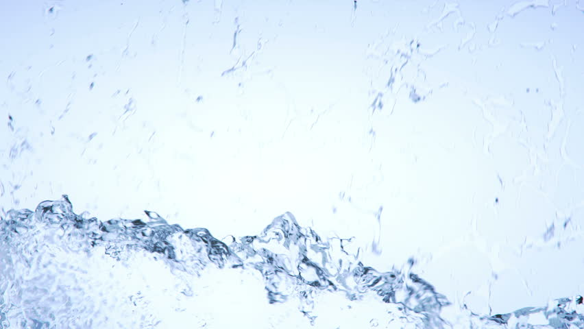 Water splashes Filling the screen + Alpha Channel (for editors) Simulated and rendered with very high detail for Ultra HD 4K | Shutterstock HD Video #5803370