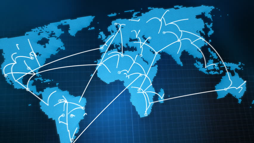 World map network hd stock footage video 580900 shutterstock sciox Images