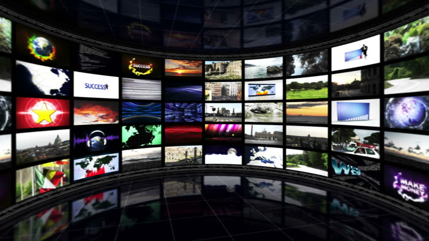 Sports News Text in Monitors, Loop | Shutterstock HD Video #5838920