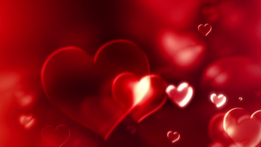Hearts Of Glass - Love And Wedding Video Background Loop /// Red hearts form a very interesting evolving texture. A wonderfully intense video loop for weddings, parties and musical events. | Shutterstock HD Video #5858612