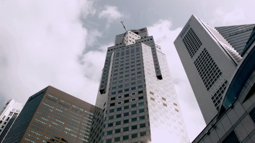 Time-lapse Black magic Pocket Cinema Camera at Singapore City   Shutterstock HD Video #6028820