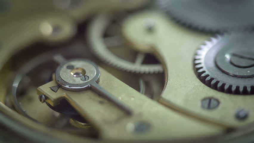 Old Watch Mechanism Close Up  Stock Footage Video (100% Royalty-free)  6028880 | Shutterstock