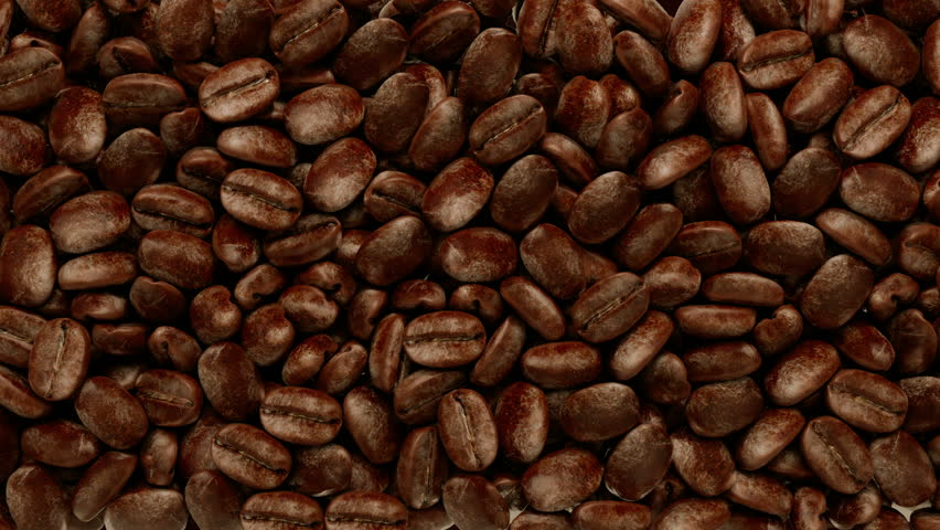 falling coffee beans, 1920x1080 HD
