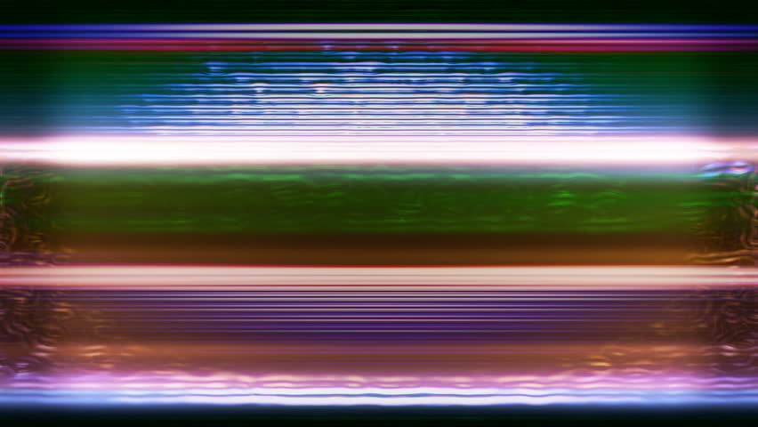 TV Noise and TV Static flicker, roll and pulse (Loop).