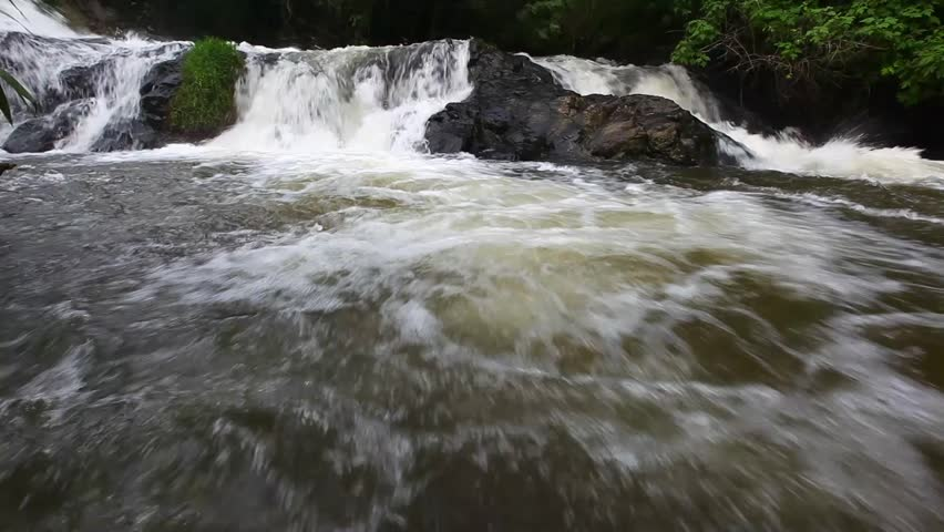 River water stream in Cimahi Indonesia