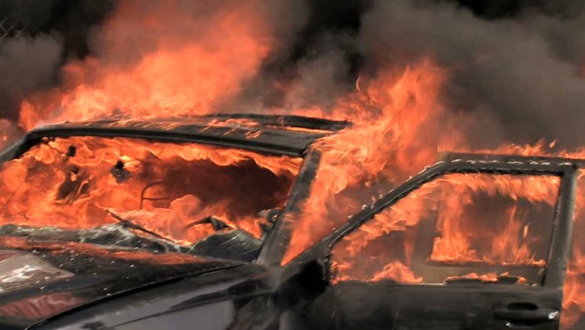 Car on fire. car explosion. car crash accident. firefighter fireman. demolition demonstration sabotage terrorism. emergency disaster. danger dramatic fatal