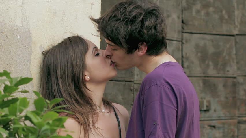 Couple In Love Kissing Stock Footage Video 100 Royalty Free 6156320 Shutterstock