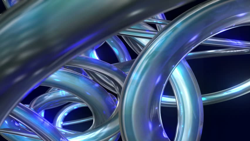 Abstract 3D curves animated background. Progressive scan, seamlessly loop-able. | Shutterstock HD Video #6196433