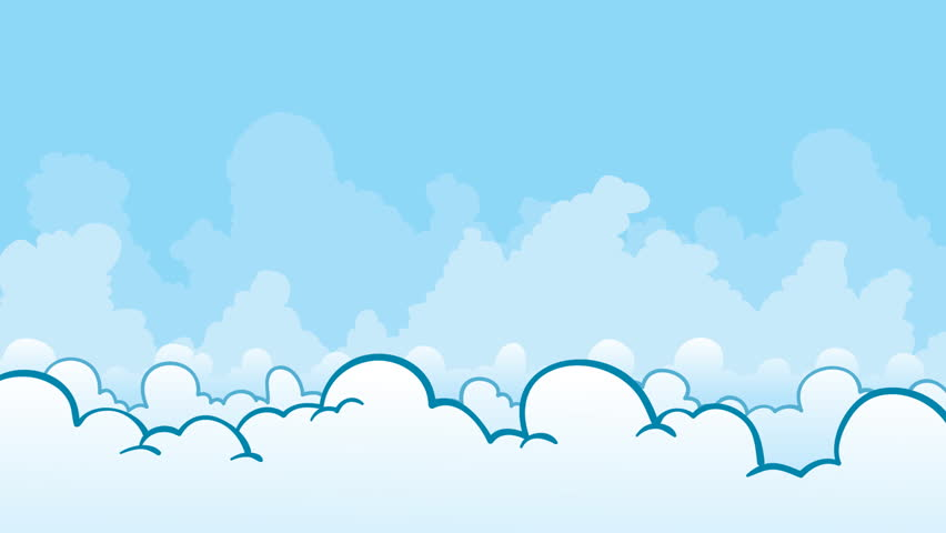 4k funny cartoon animation footage video clip of summer vacation a cartoon passenger jet dives into the clouds hd stock footage clip voltagebd Gallery