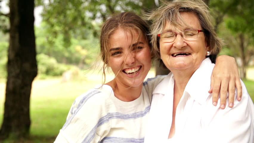 Header of granddaughter