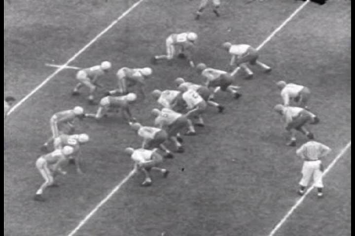 CIRCA 1950s - Tennessee beats Texas in the 1951 Cotton Bowl.