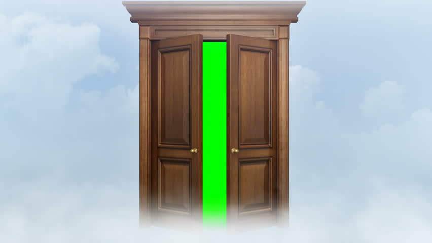 Door opening with chroma key. Two animations + chroma key and trackers. Door for & Open Door And Go Out To White Light Stock Footage Video 12006695 ... Pezcame.Com