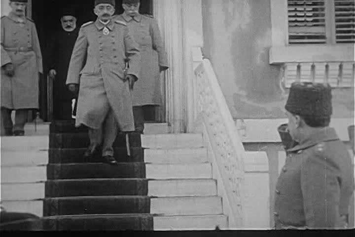 CIRCA 1920s - Ottoman sultan Mohammed VI steps down in 1922 and Mustafa Kemal takes over leadership of Turkey.