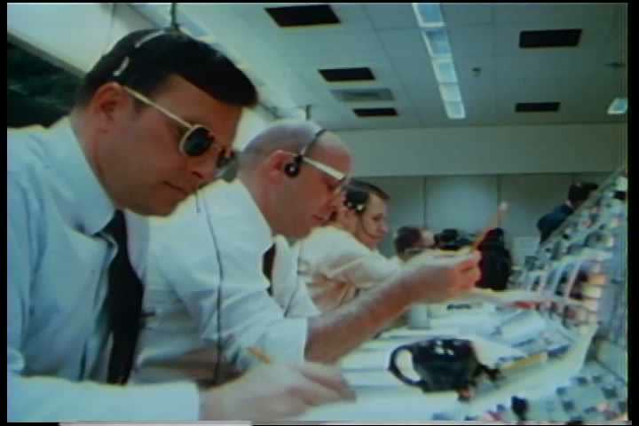 CIRCA 1960s - Footage of the Apollo 9 mission to test the Command-Service Module and Lunar Module in preparation for the lunar landing.