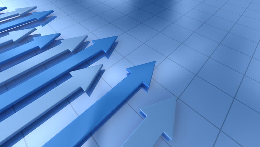 Business graph with arrow  | Shutterstock HD Video #641257