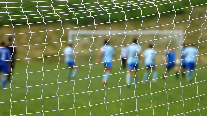 Children Playing Indoor Soccer Stock Footage Video 6234575 ...