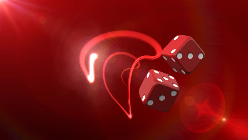Red Casino Dice Red Background 3d Animated Computer Design Abstract Background   Shutterstock HD Video #6525560
