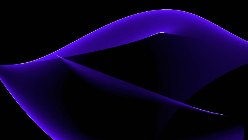 Abstract blue curve light & silk,flowing tech web digital wave background. cg_00071 | Shutterstock HD Video #6536090