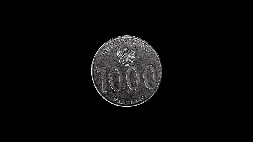 Indonesian 1000 Rupiah Coin Looping Rotation Realistic 3D animation video, loopable. Ideal for financial and political videos.  | Shutterstock HD Video #6543830