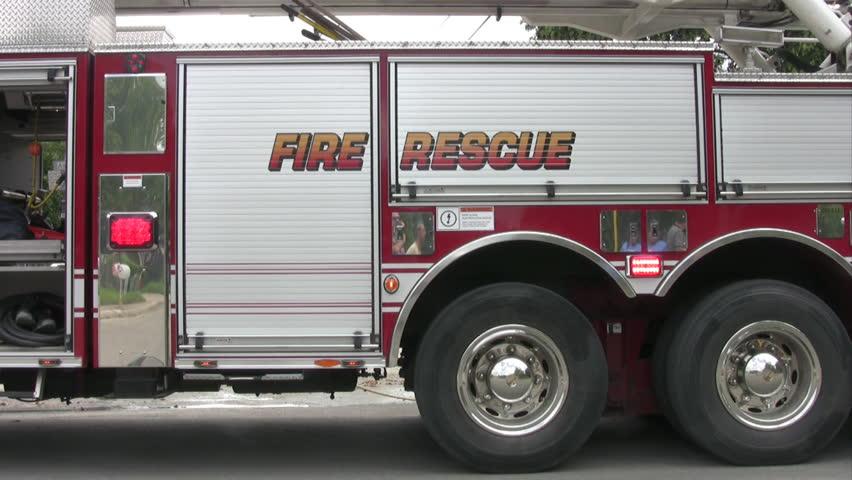 stock video of fire truck 1952437 shutterstock rh shutterstock com Fire Pump Piping Diagram Fire Pump Components Diagram