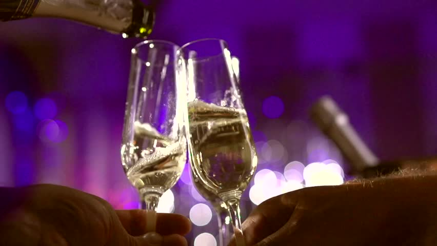 champagne en soute