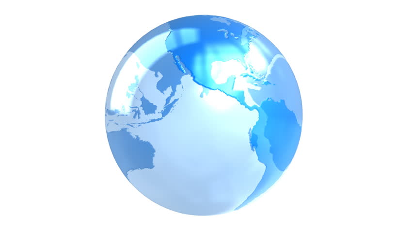 Blue spinning transparent globe slow looping seamless isolated blue spinning transparent globe slow looping seamless isolated on white background texture map from nasa stock footage video 6605360 shutterstock gumiabroncs Image collections
