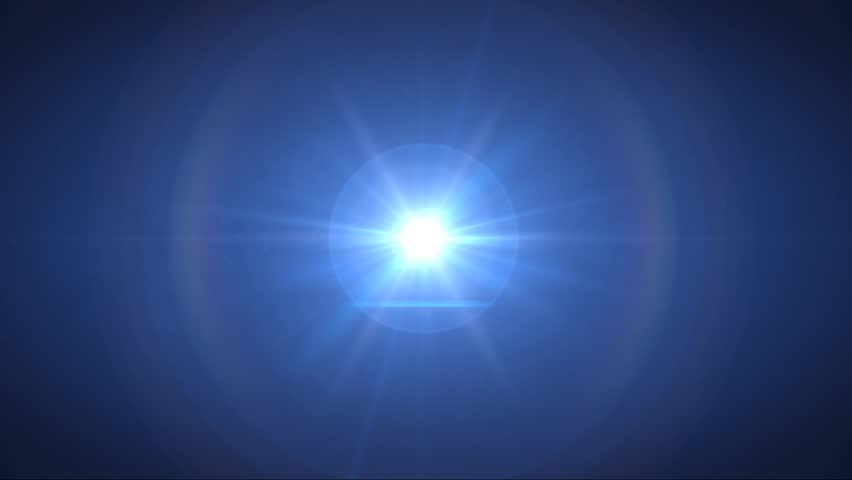 Abstract blue lens flair background, with a sci-fi solar science style  | Shutterstock HD Video #6623630