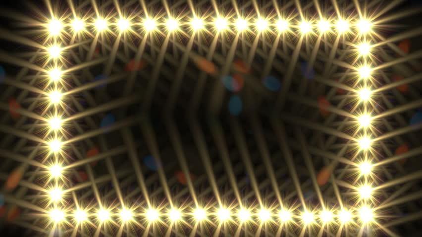 Glow Light Border Stock Footage Video 100 Royalty Free 6640220 Shutterstock