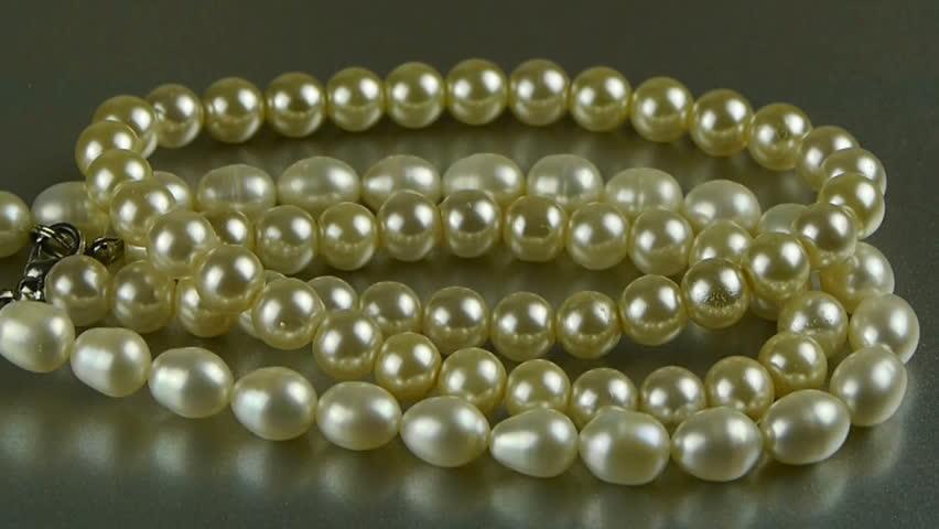Pearl necklace jewelry. gh2_01919 | Shutterstock HD Video #6769390