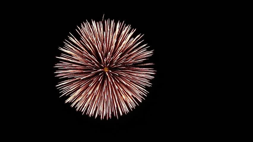 Close up of fireworks | Shutterstock HD Video #6830620