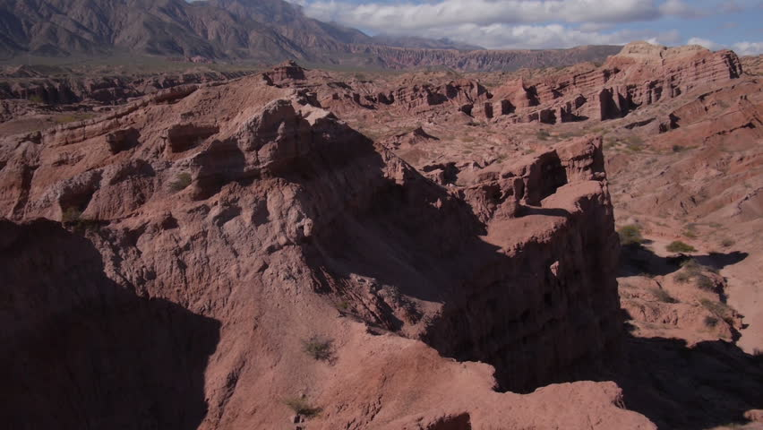 "Flight in ""Quebrada de las Conchas"", Cafayate, Argentina 