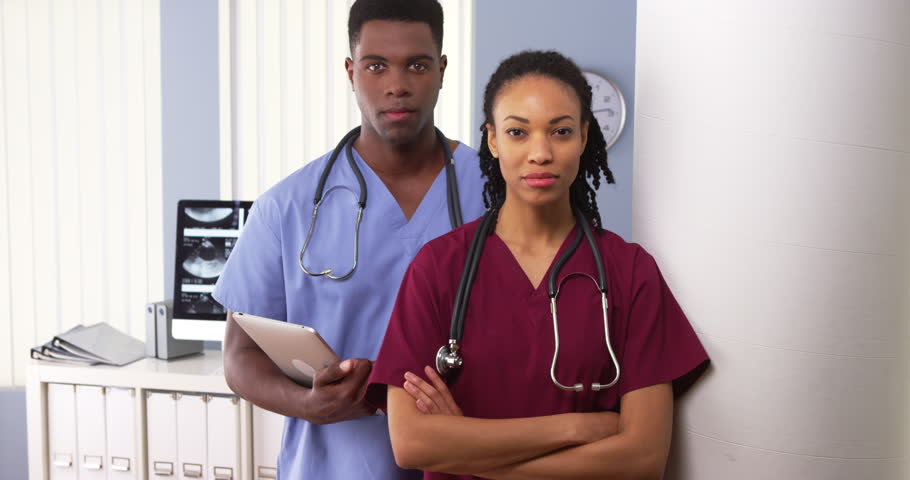 Female Multiracial Doctor Giving Prescription To Her -1419