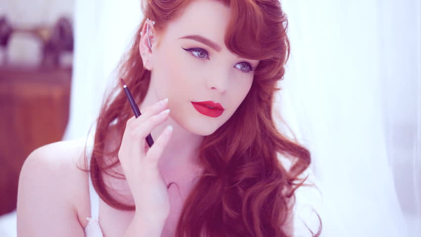Redhead video clip