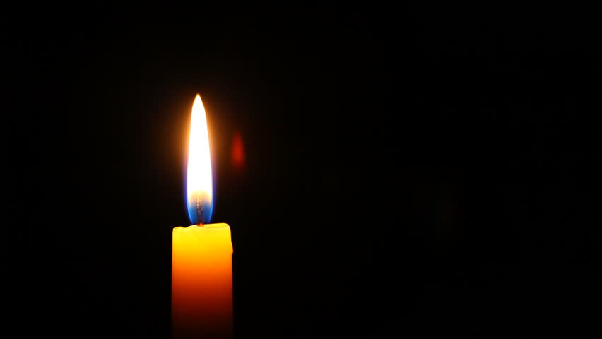 HD 1080p - Candle in high definition, much copyspace for own text