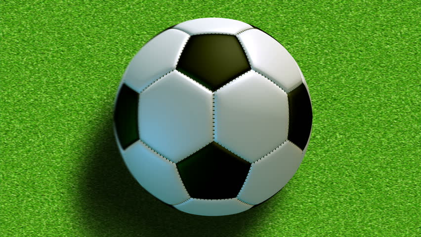 Football World. Soccer Video Animation. Stock Footage ... Rolling Soccer Ball