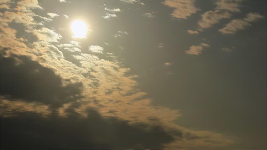 Clouds drift on the sky | Shutterstock HD Video #7135030