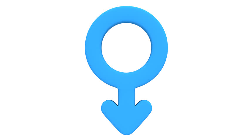 Male And Female Signs Rotate Animation Seamless -3171
