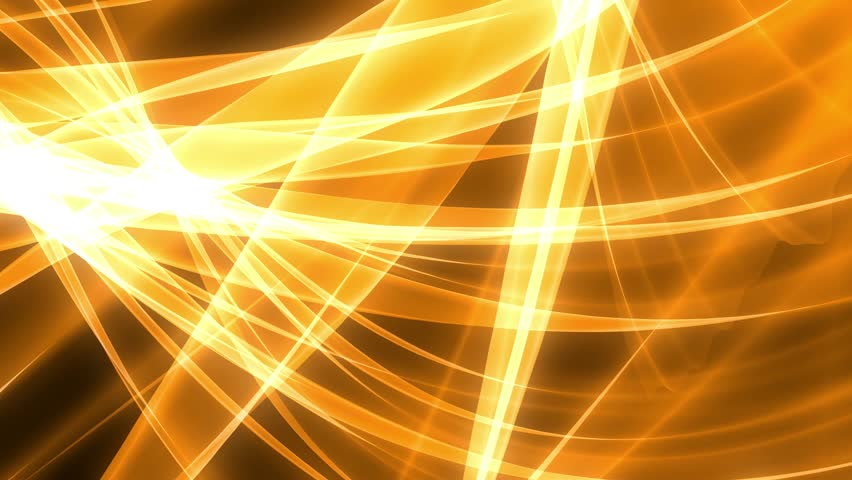 Abstract Gold Animation Background. Stock Footage Video