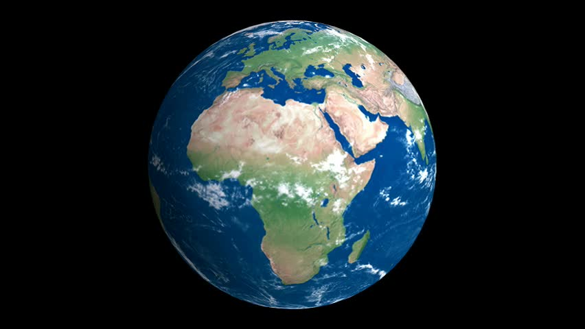Stock video of realistic earth slowly rotating around its 720310 stock video of realistic earth slowly rotating around its 720310 shutterstock gumiabroncs Gallery