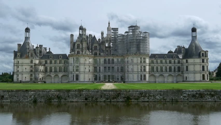 Extrêmement CHAMBORD FRANCE - AUGUST 2013:Rear View Of The Chateau De Chambord  RB14